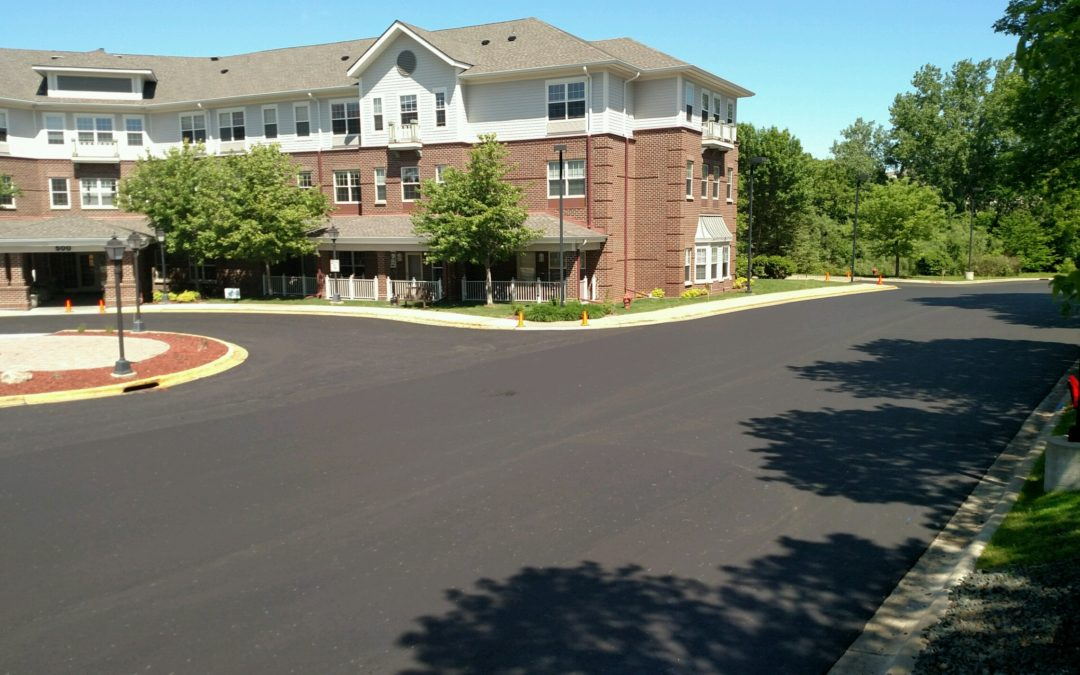 Senior Housing Complex Parking Lot – Minnetonka