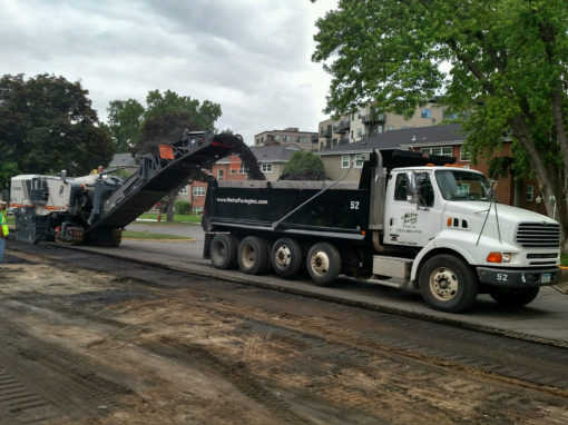 Replacement of 16 Driveways in Local Townhome Complex