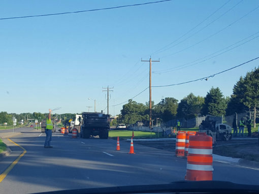 Base Work Curb Replacement and Paving – Sept 2016