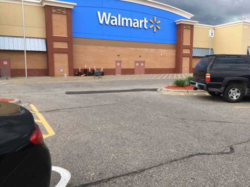 Over 10,000sf of Patching for Walmart