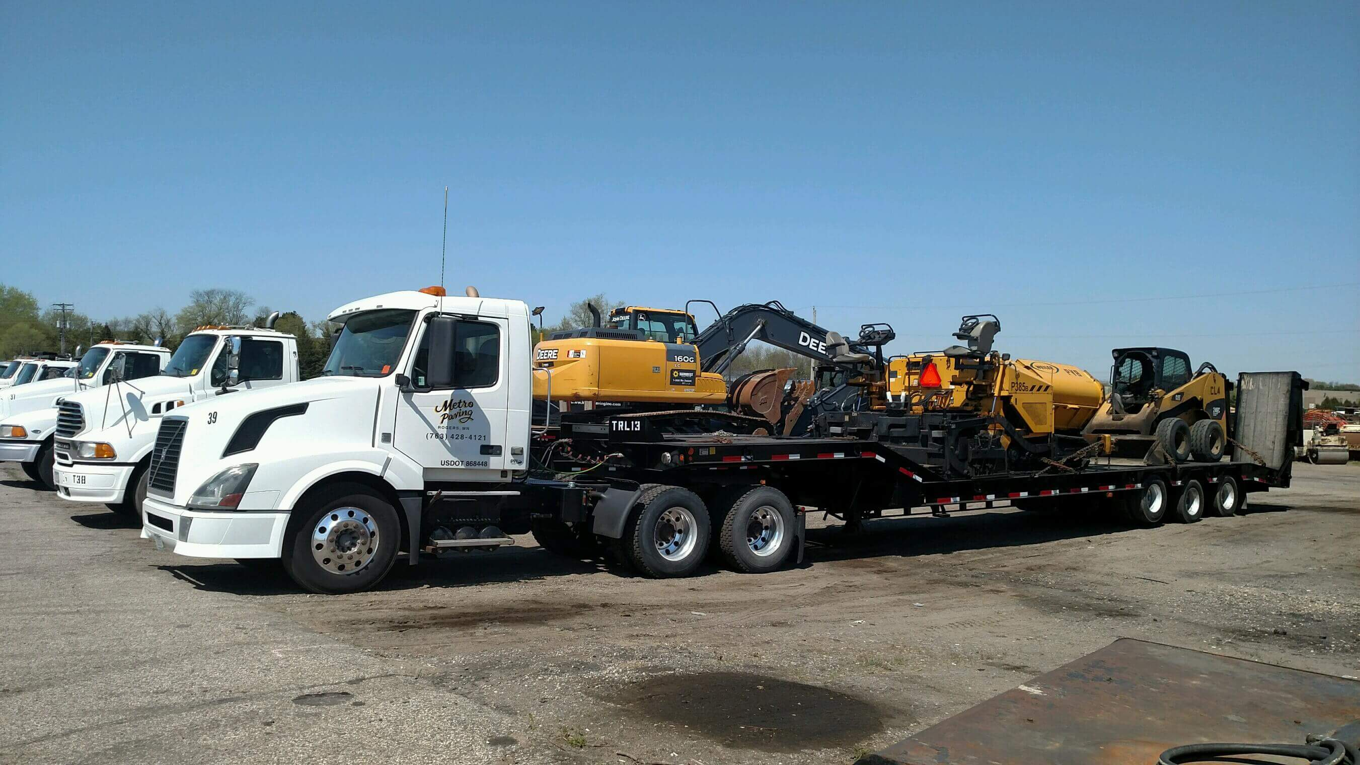 Equipment Metro Paving Inc