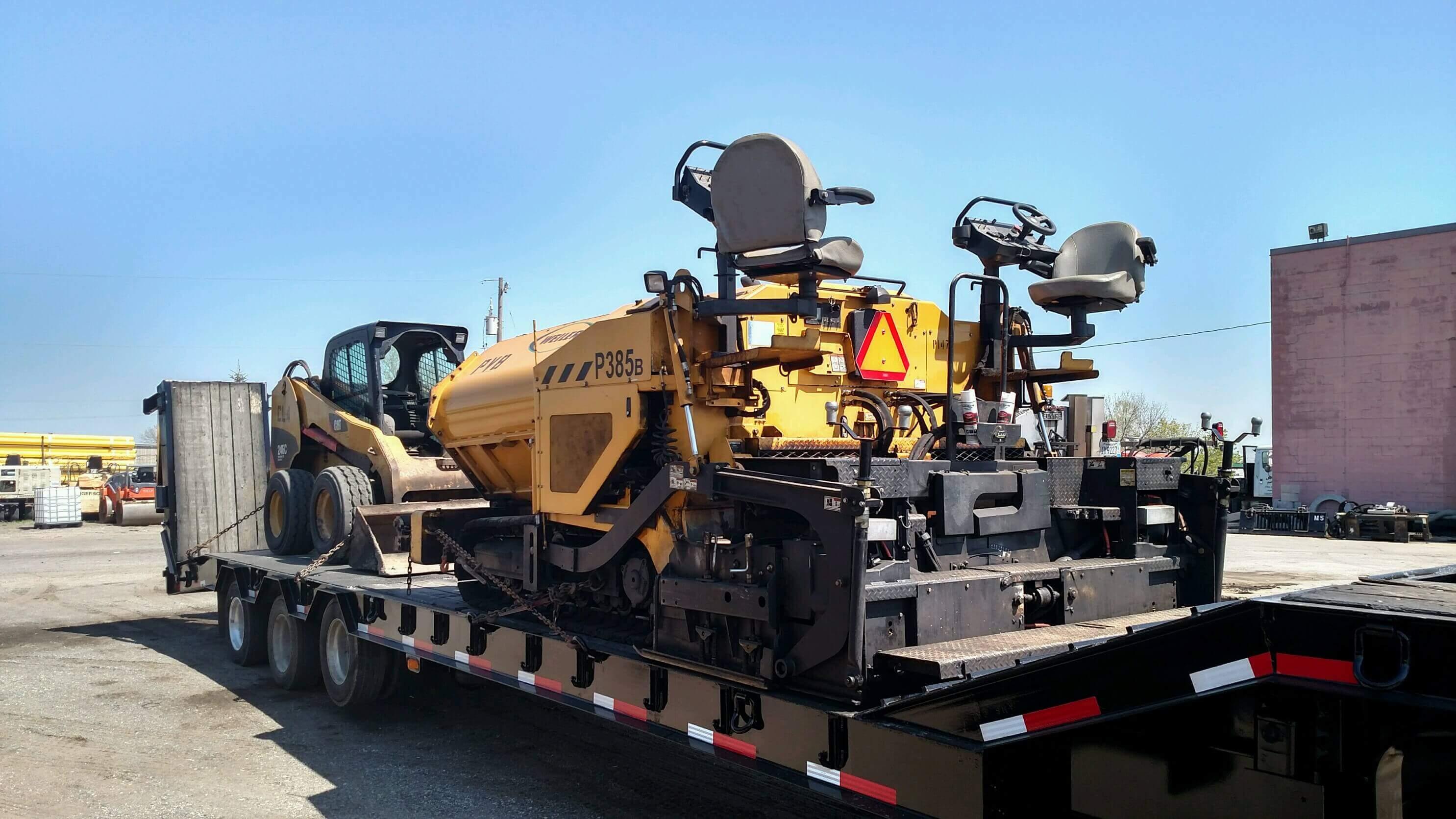 Equipment Metro Paving Inc