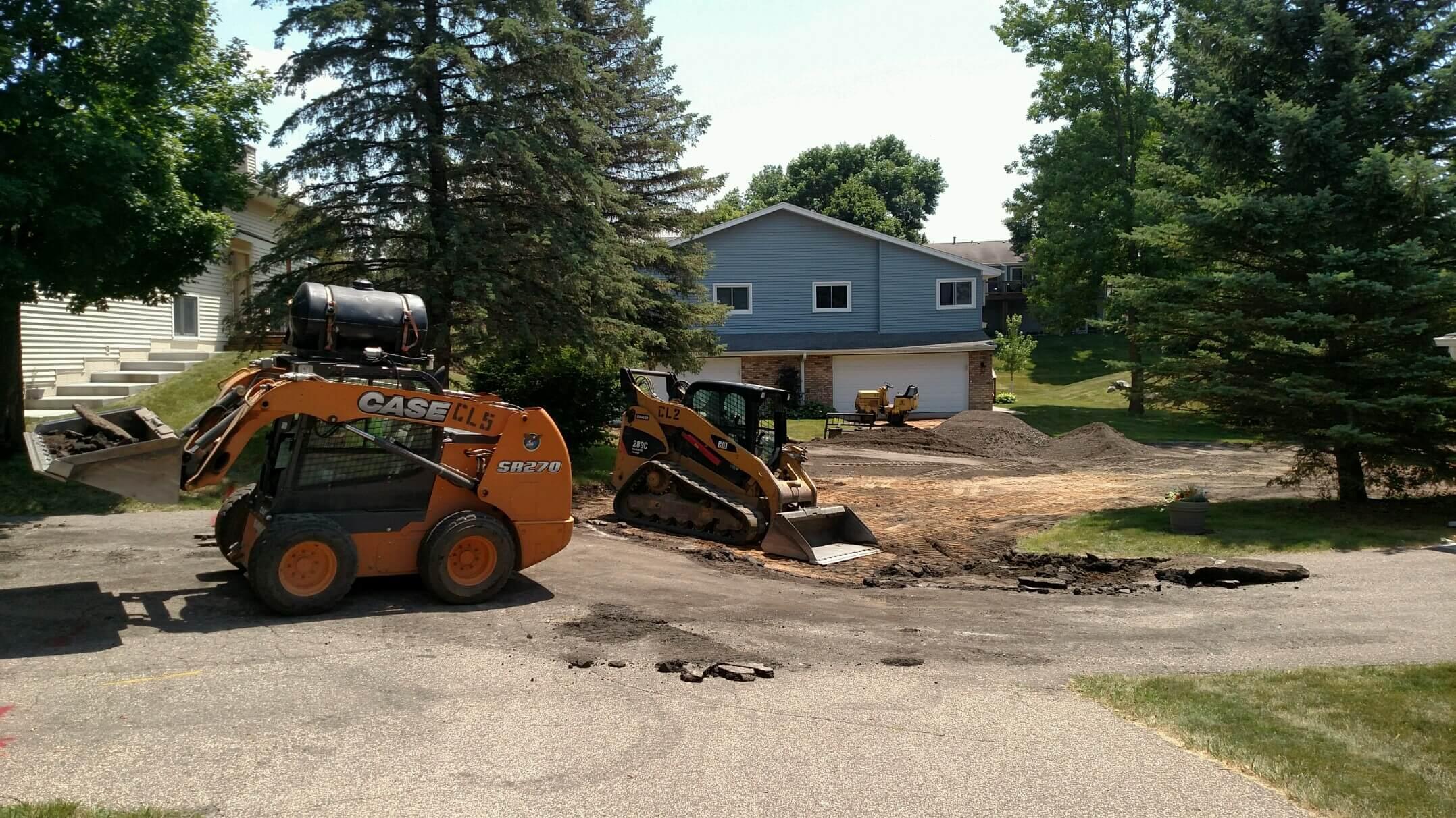 Removing The Base Metro Paving Inc