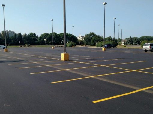 Overlay of Large Shopping Mall in Fridley