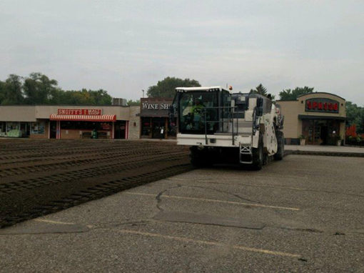 In Action: Asphalt Reclaiming Saves Customer Costs