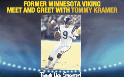 Metro Paving Inc Sponsors Events with Former Vikings Quarterback Tommy Kramer