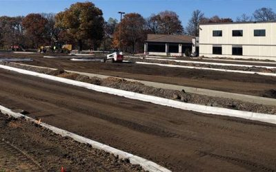 Working Into the Cold Season: Featured Paving Job